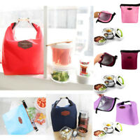 Thermal Cooler Insulated Waterproof Lunch Box Storage Picnic Bag Small Portable
