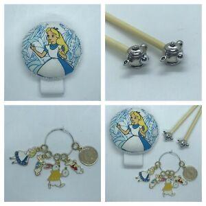 Alice in Wonderland Knitting Gift Set Handmade