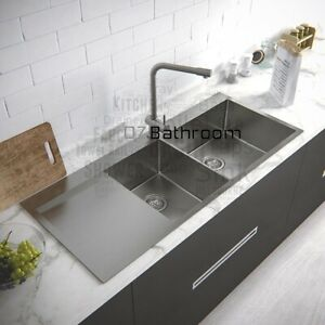 1200*500*220 SS 316 Stainless steel kitchen sink 1 3/4  Bowls top mount
