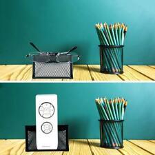 Mesh Home Desktop Collection Business Office Card Holder Steel Desk Stand Black