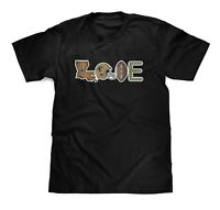New Orleans SAINTS Football LOVE T-Shirt WHO DAT NATION Louisiana