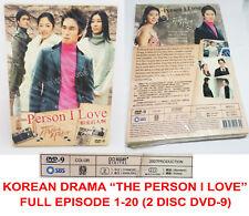 Korean Drama The Person I Love Full Episodes 1-20 End 2 Disc DVD-9 English Sub