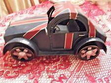 VW Beetle Union Jack - Large Metal Car Figurine