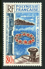 French Polynesia Scott C38 Mint 1965 80f Airmail View MNH 9B26 53