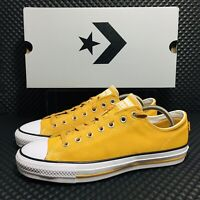Converse CTAS Pro Ox Sunflower Gold Men's Athletic Suede Casual Skate Sneaker