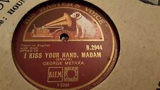 GEORGE METAXA I KISS YOUR HAND MADAM & AY AY AY HMV B2944