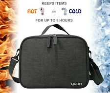 Thermal Lunch Bag QUON – Cooler Box for Adults & Kids Large Insulated Lunch Bag