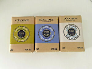 L'OCCITANE Shea Butter Soap 250g. (Set of 3 pcs) for everyday use the bath