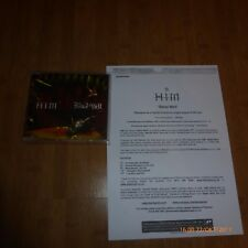 HIM-Bleed Well-UK PROMO CD RELEASE-Vénus Doom-RARE + info Sticker & Sheet