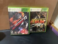 Xbox 360 Need for Speed Lot of 2: Hot Pursuit & The Run Limited Edition