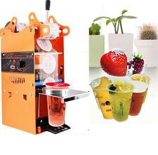 9cm&9.5cm Manual Electric Bubble Tea Cup Sealing machine Fruit Juice Cup Sealer