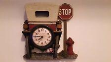 Vintage 1975 Burwood Products 1908 Model T Wall Clock New Haven Quartz Movement