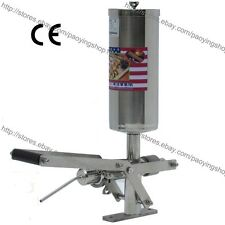 Manual 5L Stainless Steel Spanish Donuts Churrera Churros Filler Filling Machine