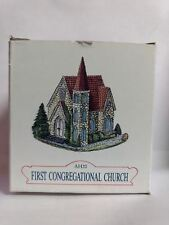 Liberty Falls - Americana Collection - First Congregational Church - Ah20 - 1992