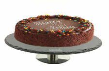 SFK Delish Treats Round Black Slate Cake Stand display server cupcake pastries