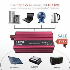 3000W/6000 Watt Peak Power Inverter DC 12V to AC 110V for Car Truck RV Pickup DP