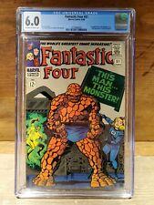 FANTASTIC FOUR #51 (Marvel) CGC 6.0 FN Fine June 1966 Silver Age Comic Book