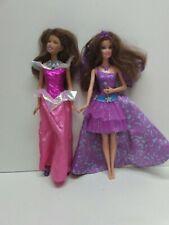 Barbie Sparkle Light Princess and The Princess & the Popstar Singing Keira