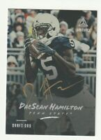 2018 Panini Luminance Draft Day Gold Auto Rookie RC DaeSean Hamilton SSP /25