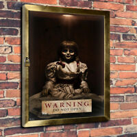 Annabelle Do Not Open The Conjuring Printed Canvas Picture Multiple Sizes