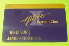 Hilton Hotel Casino Las Vegas, Nevada Purple Slot Card Great For Any Collection!