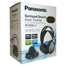 Panasonic DJ Style Wireless Over Ear Headphones with Surround Sound - Silver