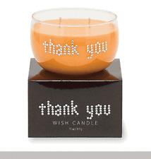 Primal Elements, THANK YOU, Rhinestones, WISH Candle