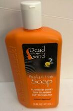 New Dead Down Wind Scent Prevent Body & Hair Soap 16 oz Eliminate Chemical Odors
