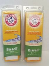 2 Bissell 8 & 14 by Arm and Hammer Odor Eliminating Vacuum Filter 62648F NEW