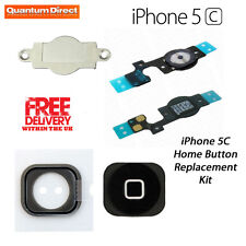*NEW* Premium Quality Complete Home Button Replacement Repair Kit For iPhone 5C