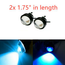 2x Fog Universal Blue LED Bull Eye Vehicle DRL Daytime Running Light 12V-24V new