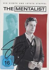 SIMON BAKER Mentalist 7.Staffel DVD Cover signed signiert IN PERSON Autogramm