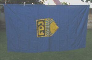 Original FDJ-Fahne - Flagge - 200 x 120 cm - aus DDR-Zeit