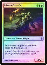 Mirran Crusader FOIL Mirrodin Besieged PLD White Rare MAGIC MTG CARD ABUGames