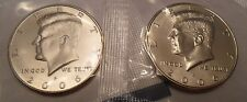 2006 P & D Kennedy Half Dollar Set (2 Coins) *MINT CELLO*  **FREE SHIPPING**