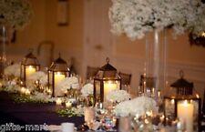 "10 Large 17"" tall Malta BRONZE BROWN Candle holder lantern wedding centerpiece"