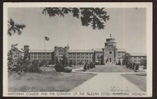 Postcard LIVONIA/PLYMOUTH? MI  Madonna College & Felican Sisters Convent 1940's