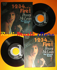 LP 45 7'PENNY MCLEAN 1-2-3-4.fire!The wizard bump 1976 italy DURIUM(*) cd mc dvd