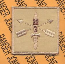 3-20th Special Forces Group AIRBORNE Helmet Cover patch