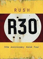 Rush - R30 : 30th Anniversary Tour rare (2 disc) Rock dvd 30+ songs videos