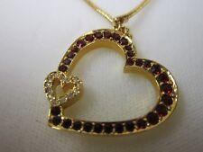Judith Lieber Heart Necklace