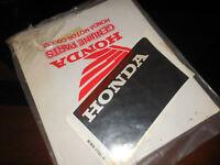 NOS Honda OEM STRIPE 1 R. SIDE COWL TRANSALP XL600 87143-MM9-770ZA