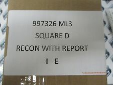 Square D 997326 Ml3 200 Amp 600 Volt Circuit Breaker Recon Withtest Report