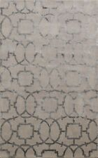 Hand-tufted Art And Crafts Oriental Area Rug Wool/ Silk Modern Foyer Carpet 4x6