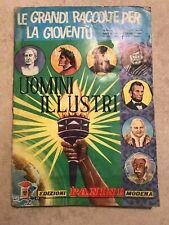 Album Figurine Panini Uomini Illustri 1967 ORIGINALE