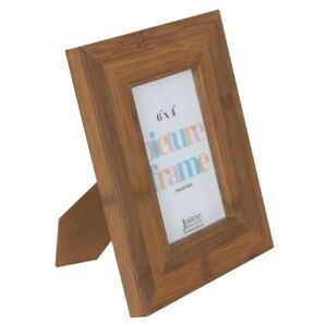 """Dark Wood Effect Picture Frame, To Fit 6 """" x 4"""" Photo or Images, Chunky Design"""