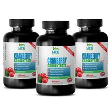 Mental Clarity - Cranberry Extract 50:1 - Vitamin E Capsules 3B