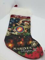 Marine Corps Christmas Stocking US Marines Semper Fi Marines Merry Christmas