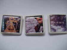 AND  3 MORE  PRINCE   ALBUM COVER BADGES / PINS FREE POSTAGE IN THE UK