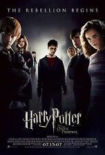 HARRY POTTER AND THE ORDER OF THE PHOENIX Original Movie Poster 27x40